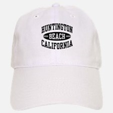Huntington Beach CA Baseball Baseball Cap