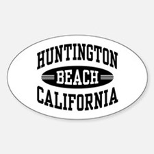 Huntington Beach CA Decal