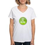 I am Blogging This Women's V-Neck T-Shirt
