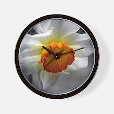 Daffodil Umbrella Wall Clock