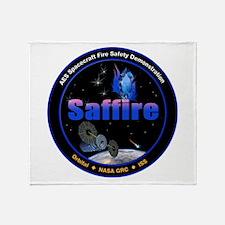 Saffire 1 Logo Throw Blanket