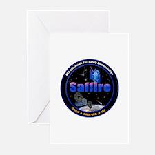 Saffire 1 Logo Greeting Cards (Pk of 10)