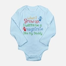 Magistrate Like Daddy Long Sleeve Infant Bodysuit