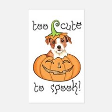 Halloween Parson Russell Decal