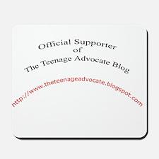 Official Teenage Advocate Blo Mousepad