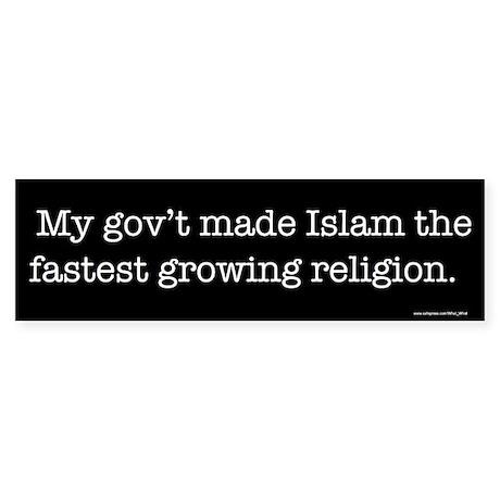 Islam Bumper