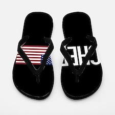 Careers: Chef (U.S. Flag) Flip Flops