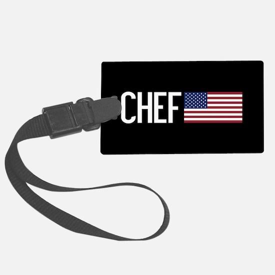 Careers: Chef (U.S. Flag) Luggage Tag