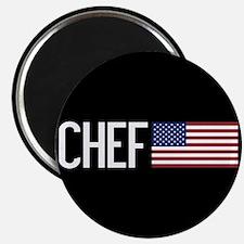 Careers: Chef (U.S. Flag) Magnet