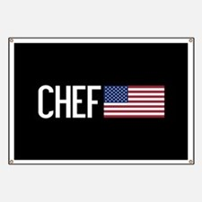 Careers: Chef (U.S. Flag) Banner