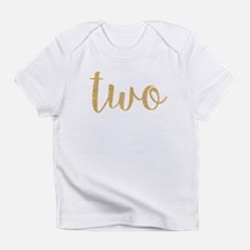 gold two Infant T-Shirt