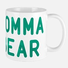 Momma Bear Green Mug