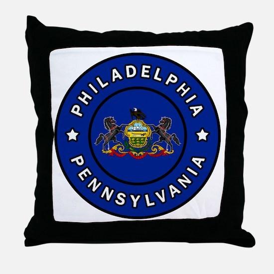 Cute Erie county Throw Pillow