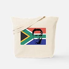 Biko on South African Flag Tote Bag