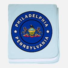 Philadelp baby blanket