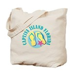 Captiva Flip Flops - Tote or Beach Bag