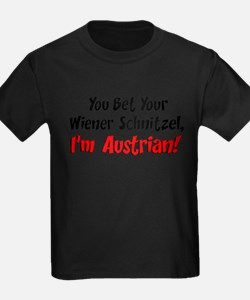 Bet Your Wiener Schnitzel Austrian T-Shirt