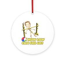 Anti-Hillary Ornament (Round)