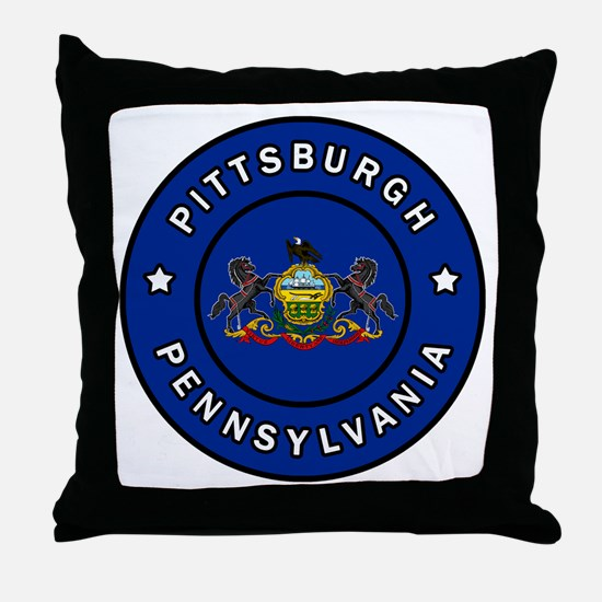 Unique Erie county Throw Pillow