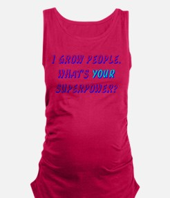 Cool Photography funny Maternity Tank Top