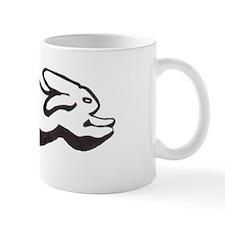 Leaping Bunny Mug