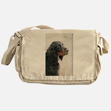 gordon setter Messenger Bag