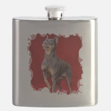 Cool Rescued horses Flask