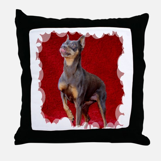 Funny Rescued horses Throw Pillow