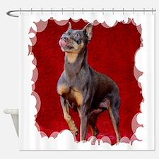 Cute Rescued horse Shower Curtain