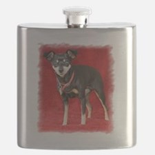 Funny Rescued horses Flask