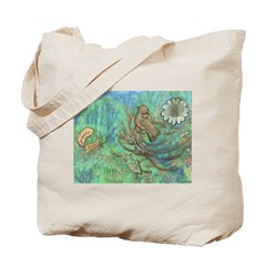 Leaping Squirrel Tote Bag