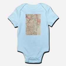 Vintage Map of The Chesapeake Bay (1875) Body Suit