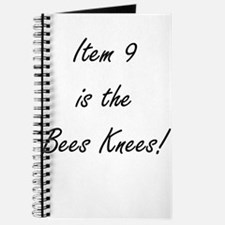 Item 9 is the Bees Knees Journal