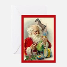 Vintage Toy Shop Christmas Card