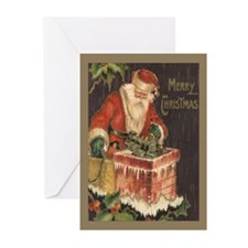 Santa's Big Night Christmas Cards (Pk of 20)