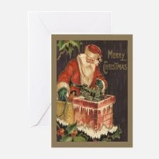 Santa's Big Night Christmas Cards (Pk of 20)