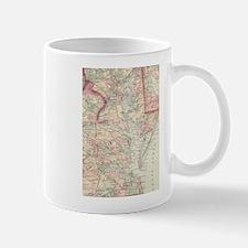 Vintage Map of The Chesapeake Bay (1875) Mugs