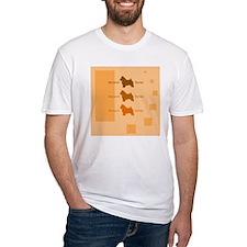Norwich Terrier T-Shirt (Orange)