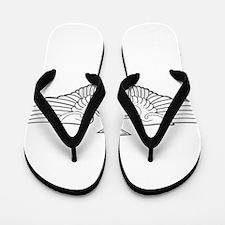 SENIOR NAVIGATOR WINGS Flip Flops