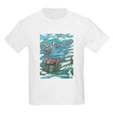 Reindeer & Friends Kids T-Shirt