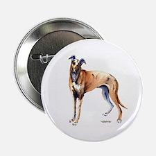 """Cute Greyhound 2.25"""" Button"""