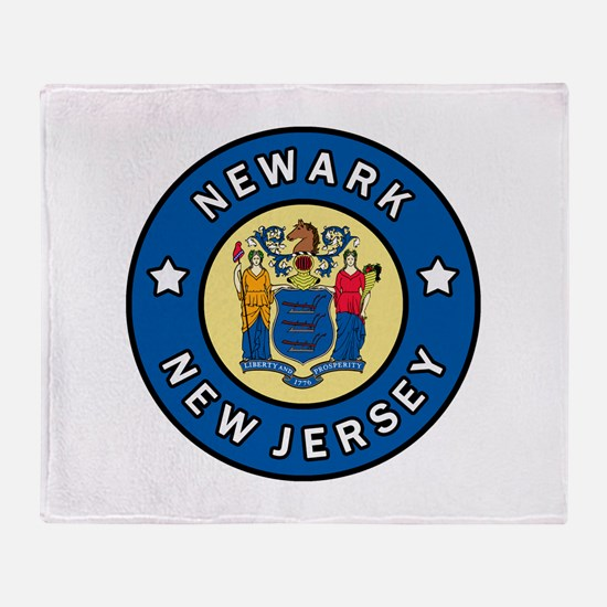 Newark New Jersey Throw Blanket
