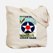 Air Service: Learn Tote Bag