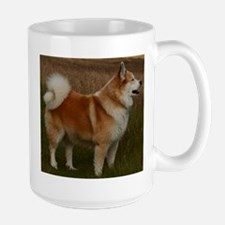 icelandic sheepdog full Mugs