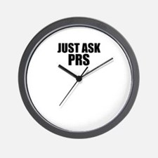Just ask PRS Wall Clock