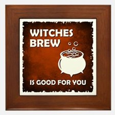 WITCHES BREW Framed Tile