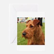 irish terrier Greeting Cards