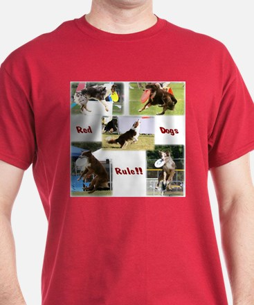 Red Dogs Rule - Frisbee! T-Shirt