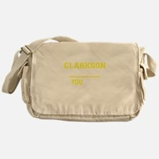 CLARKSON thing, you wouldn't underst Messenger Bag