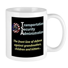 T.S.A. Front Line of Defense Mug